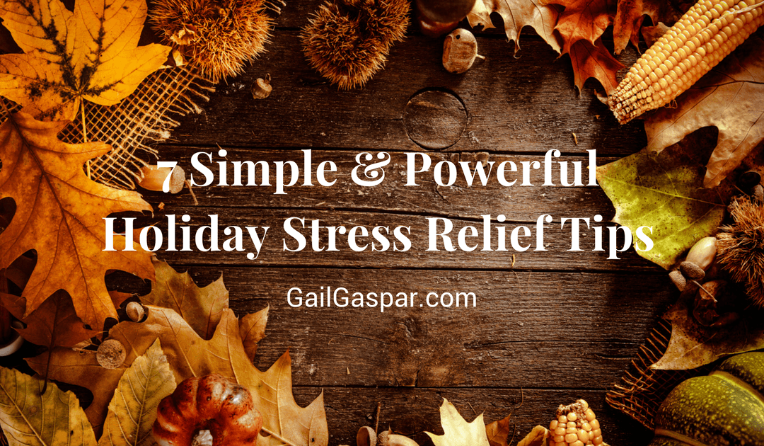 7 Holiday Stress Relief Tips For Managing Your Emotions With Relatives