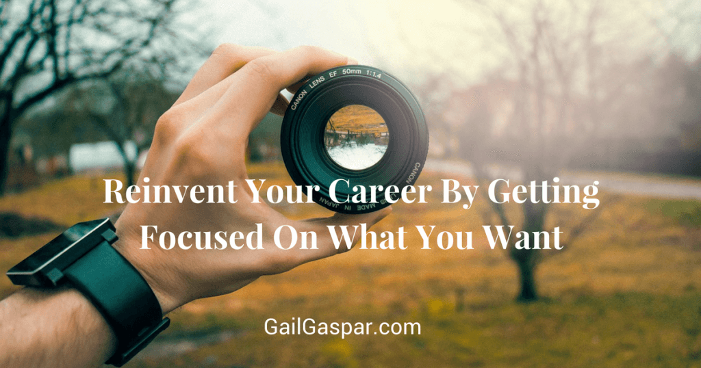 reinvent your career